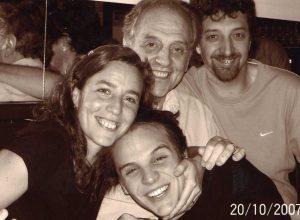 Sergio, Silvia y Carlos